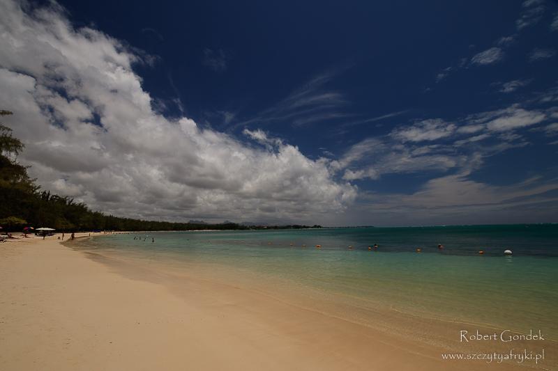 Plaże na północy Mauritiusa