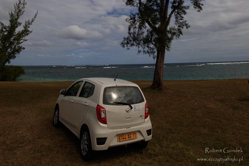 Samochód z wypożyczalni na Mauritiusie