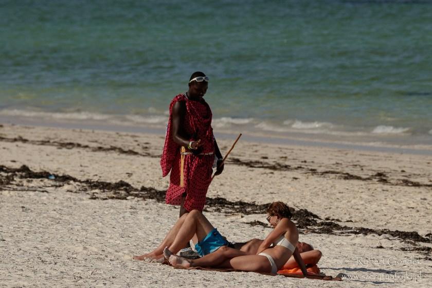 Masaj na plaży na Zanzibarze