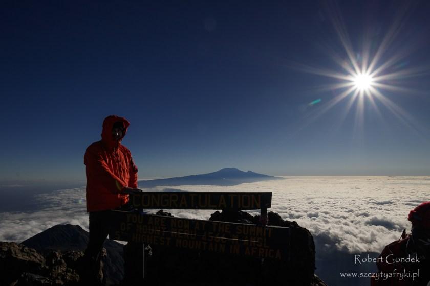 Na szczycie Mount Meru