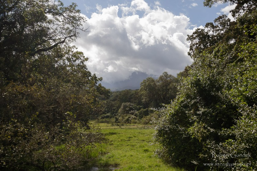 Początek trekkingu na Mount Meru