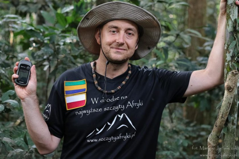 Gabon - Mount Iboundji w 2014 roku
