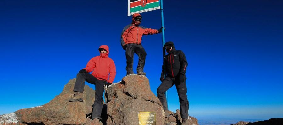 Mount Kenya - najwyższa góra w Kenii
