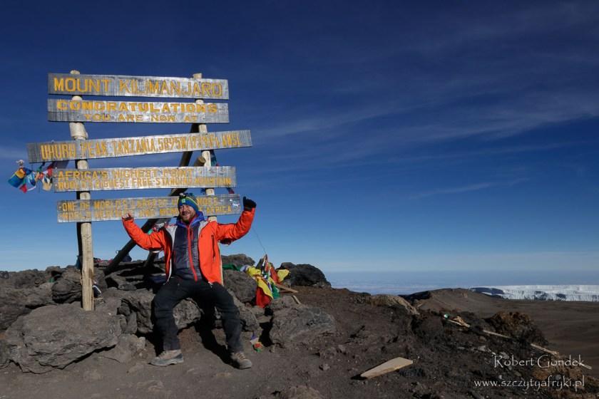 Kilimandżaro w Tanzanii - drugie wejście na szczyt