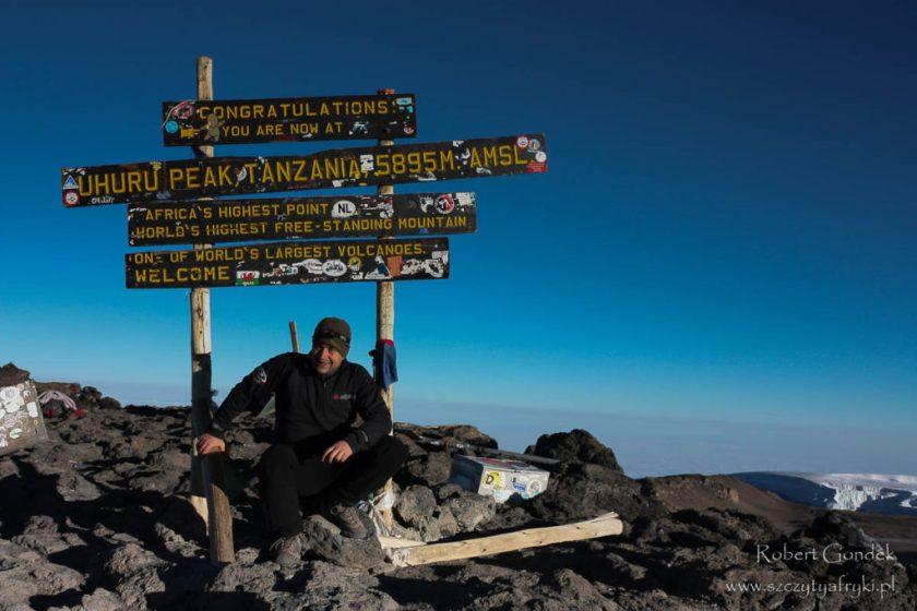 Tanzania - Kilimandżaro w 2008 roku