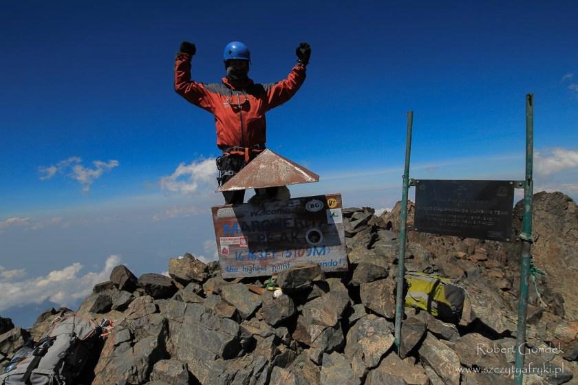 Ruwenzori (Szczyt Małgorzaty) - najwyższa góra w Ugandzie