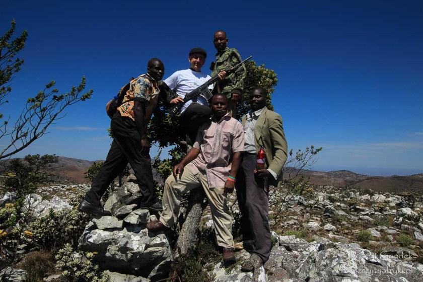 Góry Mafinga - najwyższa góra w Zambii