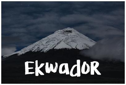 Najładniejsze zdjęcia z Ekwadoru