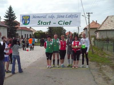 Jána Laktiša emlékfutás, 2014. szeptember 27.