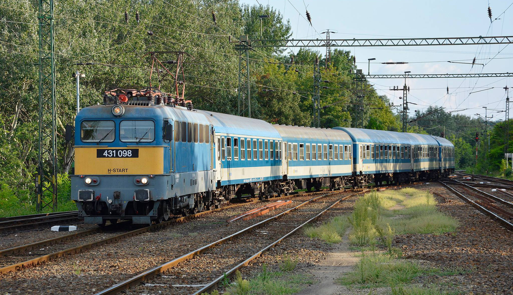 máv vasút vonat szeged állomás 2018 júl 28 f tiszai szabolcs