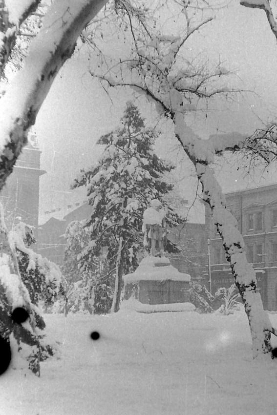széchenyi tér tél hó fotó szeged régi fotói