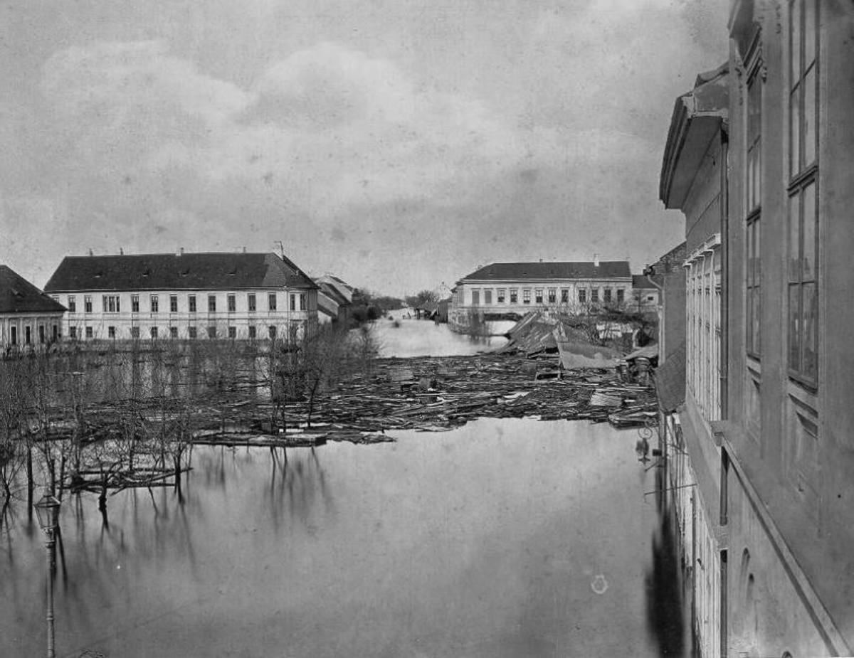 1879 árvíz dugonics tér f lechner tk