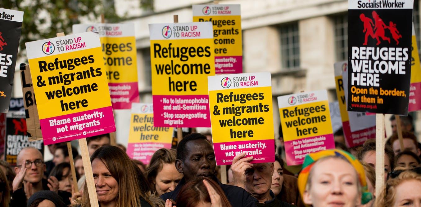 bevándorlók migráns f shutters