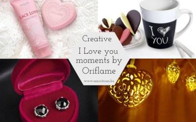 Valentin napi kellékeink – I love moments by Oriflame