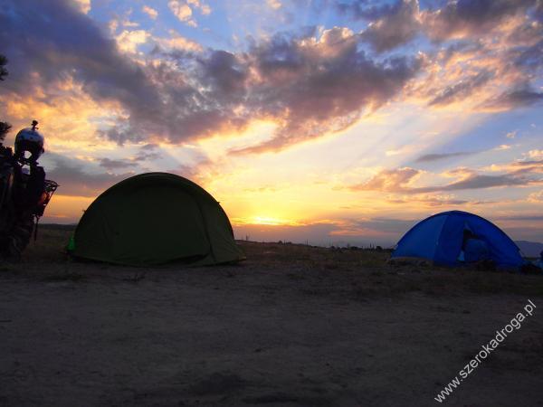 nocleg na dziko - Armenia