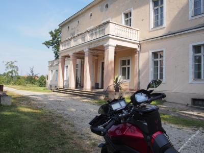pałac Błotnica Strzelecka