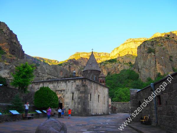 Geghard, monastyry w Armenii