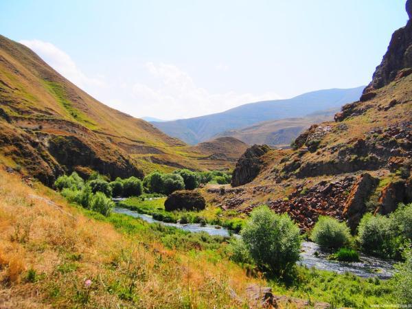 Vorotan ciekawe miejsca Armenia
