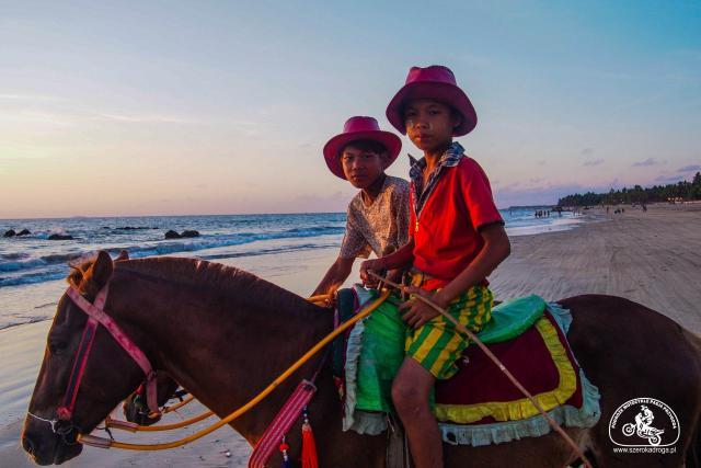 Ngwe Saung - plaże w Birmie