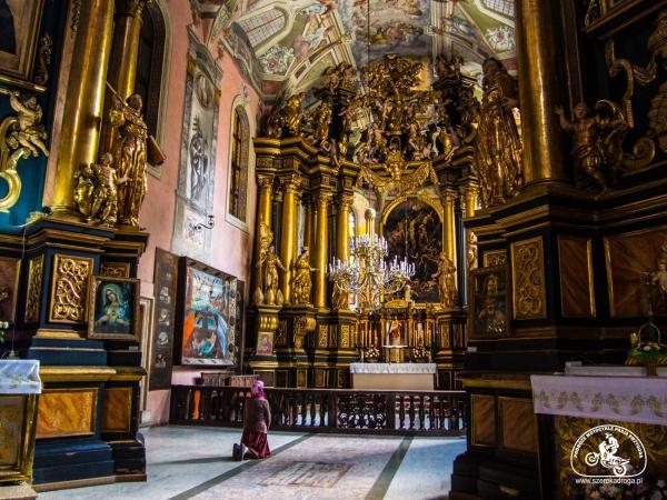Kościół Bernardynów wnętrze