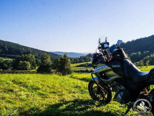 Bieszczady motocyklem