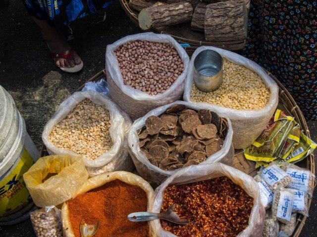 jedzenie w Birmie