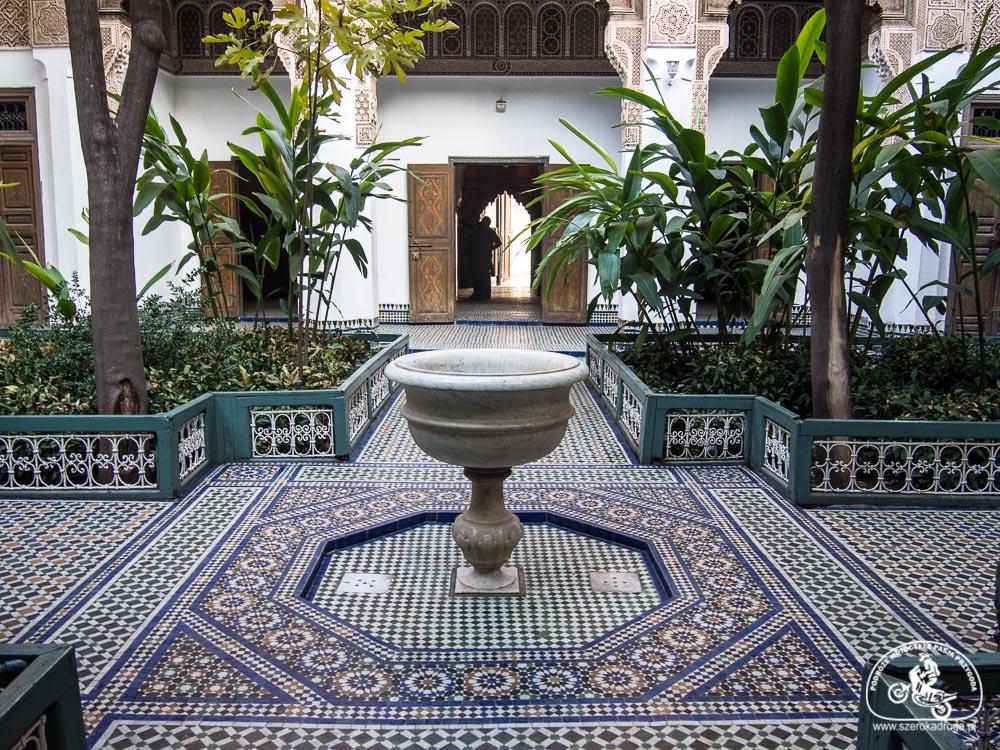 pałace w Marrakeszu