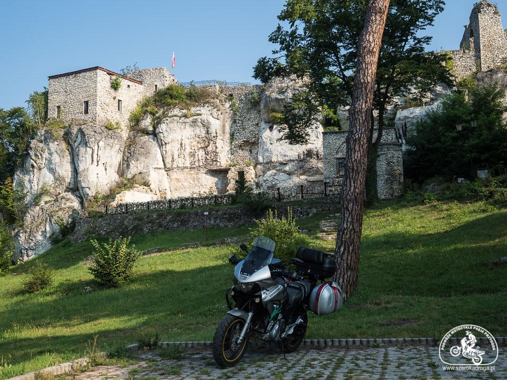 Szlak Orlich Gniazd motocyklem