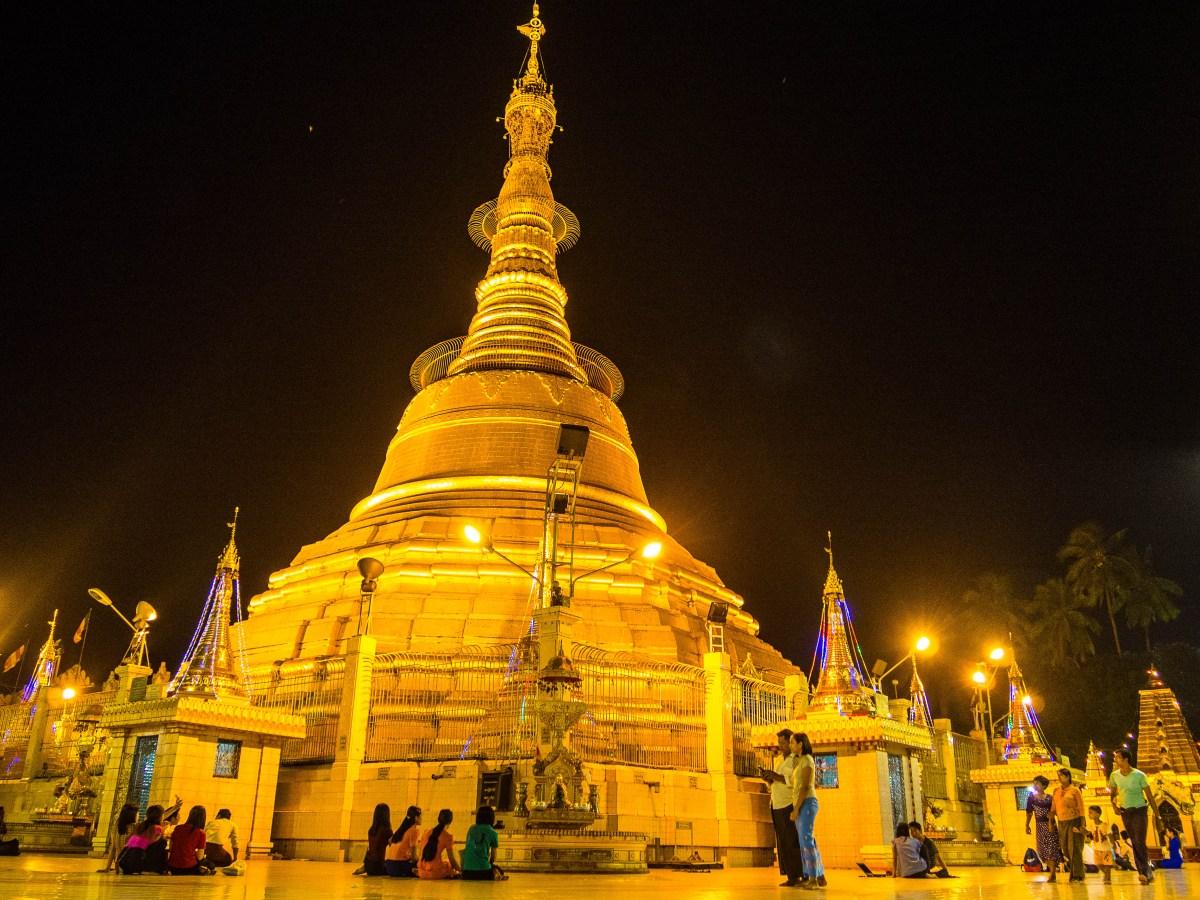 co zwiedzać w Yangon