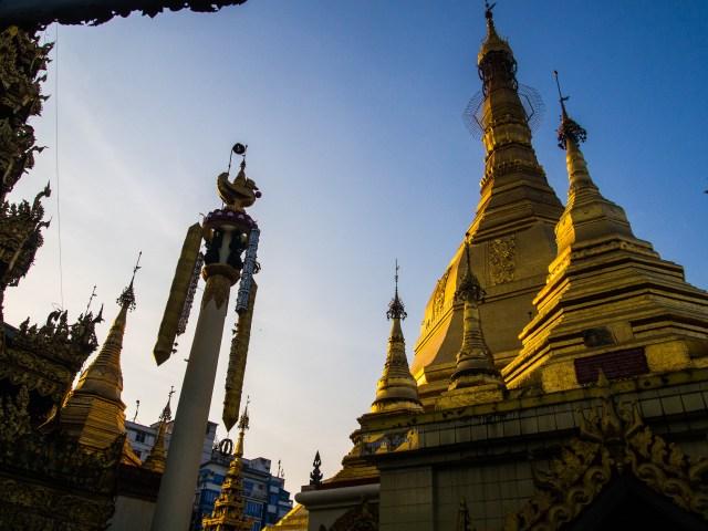 Sule Paya Myanmar zwiedzanie