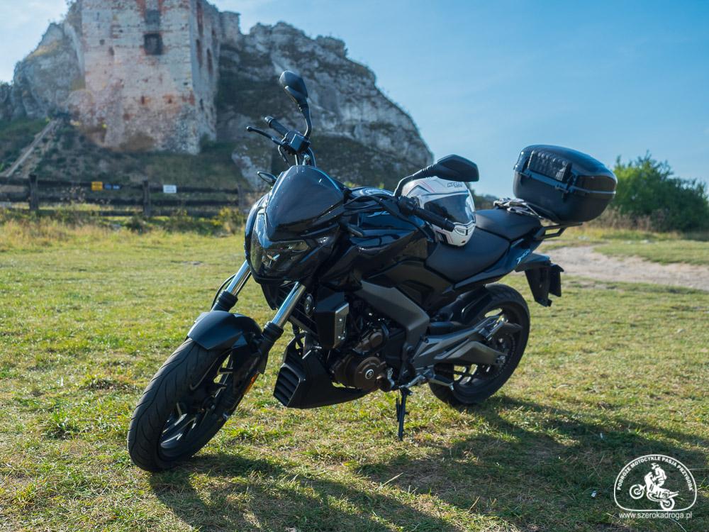 Bajaj Dominar 400, wycieczka motocyklowa pomysł