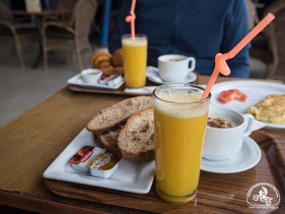 napoje w Maroku