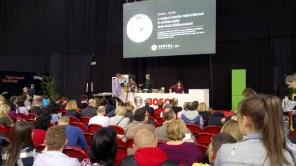 Bede Robi főzőbemutatója a Bosch nagyszinpadán