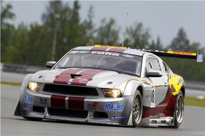 Raceroom - Zolder - Ford Mustang GTR3