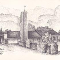 A templomot hét ólomablak díszítette