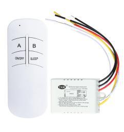 wiring diagram on light switch cabinet 1 2 3 ways on off 220v wireless digital lamp light rf remote  [ 1001 x 1001 Pixel ]