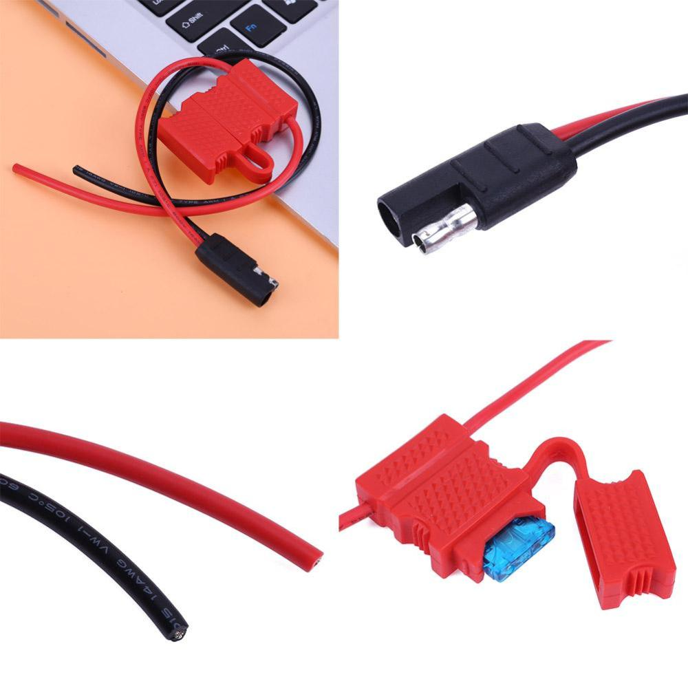 medium resolution of details about 30cm power cable with fuse for motorola mobile car radio cdm1250 gm360 cm140