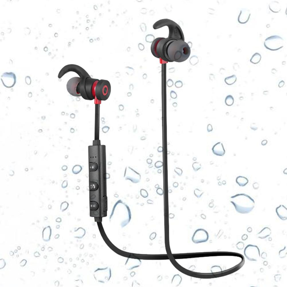 Bluetooth Kopfhörer In Ear Magnetisch Wireless Schwarz mit