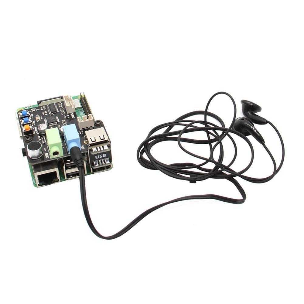 Raspberry Pi X350 Microphone USB Audio Sound Card for