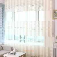 Modern Window Curtain Sheers Living Room Balcony Office ...