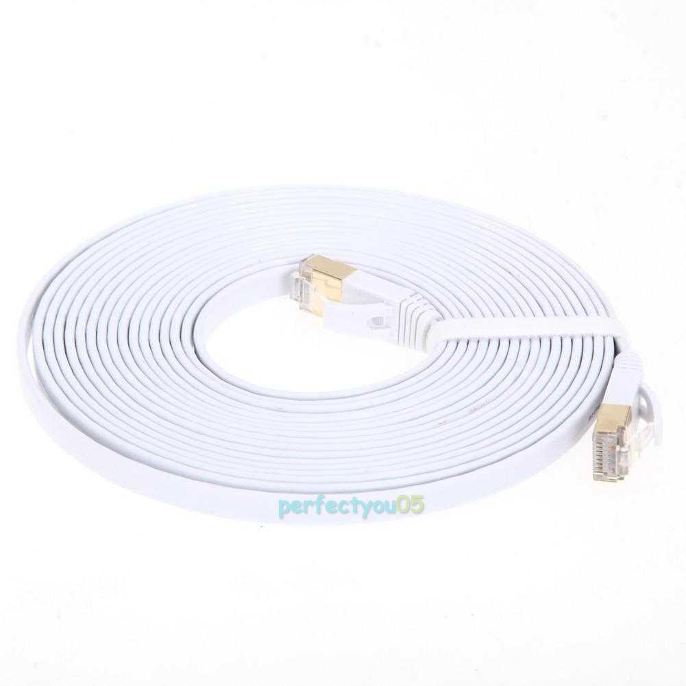2m-5m CAT7 10 Gigabit 600Mhz Ethernet Cable Modem Router
