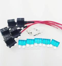 details about 5x ato atc add a circuit fuse tap piggy back standard blade fuse box holder diy [ 1001 x 1001 Pixel ]