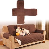 Quilted Microfiber Sofa Cover Chair Throw Pet Large Dog ...