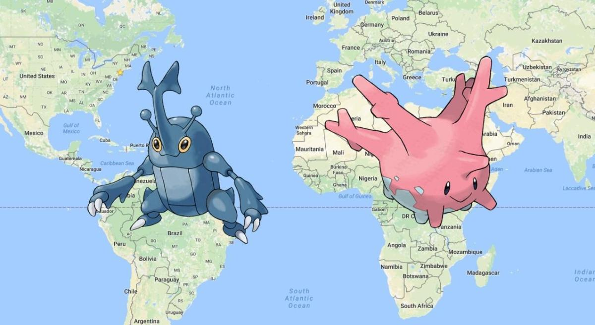Nowe Pokemony regionalne - Heracross oraz Corsola. Gdzie można je złapać?