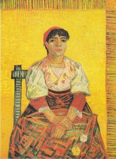 Vincent Willem van Gogh (1853-1890) Włoszka z Goździkami