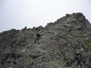 Na grani powyżej Przełęczy Gankowej