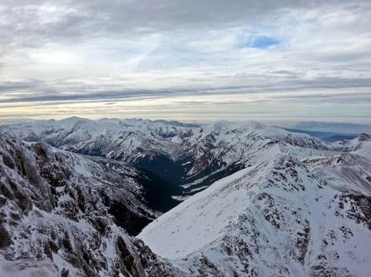 Krajobraz wczesnej zimy