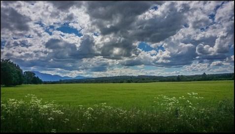 Zielone pola Liptowa.