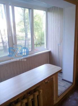 Объединение балкона и комнаты, остекление и отделка под ключ ул.Багратиона