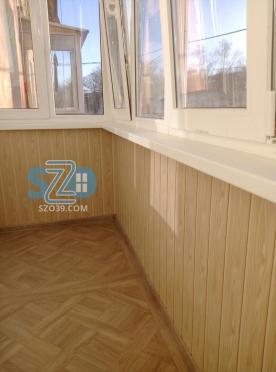 Балкон с крышей Приморск